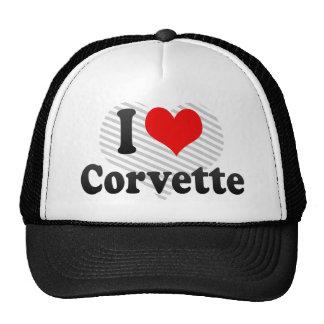 I love Corvette Mesh Hat