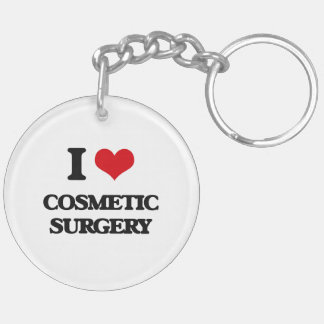 I love Cosmetic Surgery Acrylic Keychains