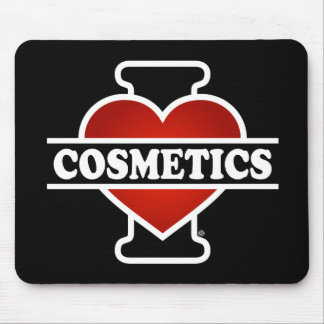 I Love Cosmetics Mouse Pad