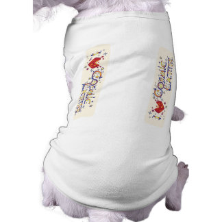I Love Cosmic Latte Sleeveless Dog Shirt