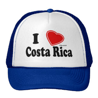I Love Costa Rica Trucker Hat
