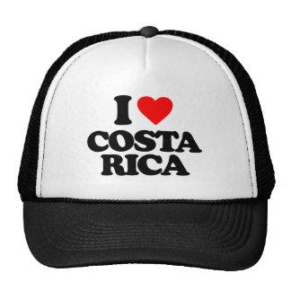 I LOVE COSTA RICA TRUCKER HATS