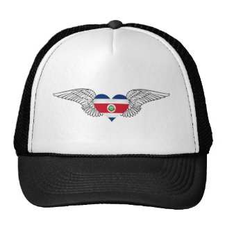 I Love Costa Rica -wings Cap