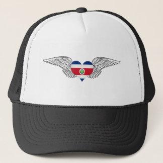 I Love Costa Rica -wings Trucker Hat