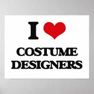 I love Costume Designers Print