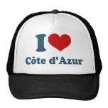 I Love Cote Azur Mesh Hats
