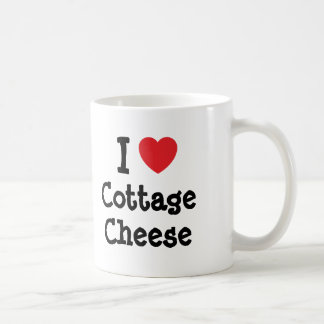 I love Cottage Cheese heart T-Shirt Coffee Mugs