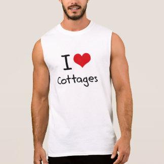 I love Cottages Sleeveless Shirt