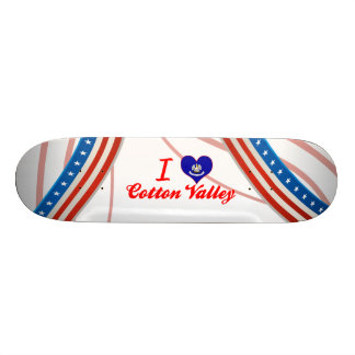 I Love Cotton Valley, Louisiana Skate Boards