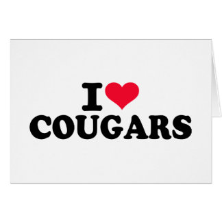 I love Cougars Cards