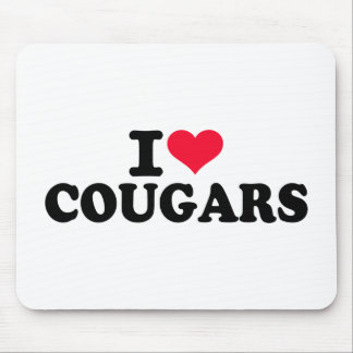 I love Cougars Mouse Pads