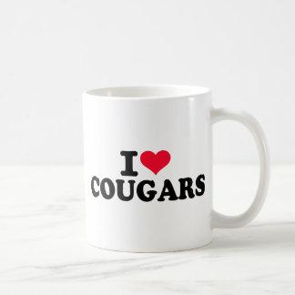 I love Cougars Coffee Mugs