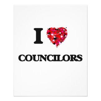 I love Councilors 11.5 Cm X 14 Cm Flyer