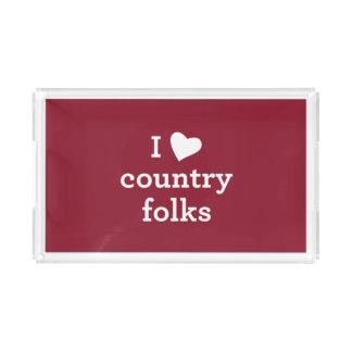 I Love Country Folks