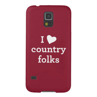 I Love Country Galaxy S5 Cover