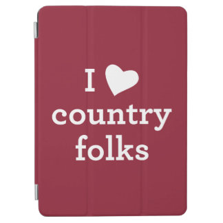 I Love Country iPad Air Cover