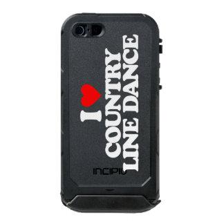I LOVE COUNTRY LINE DANCE INCIPIO ATLAS ID™ iPhone 5 CASE