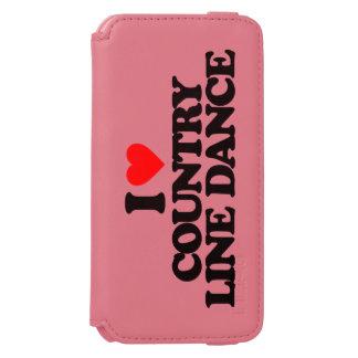 I LOVE COUNTRY LINE DANCE INCIPIO WATSON™ iPhone 6 WALLET CASE