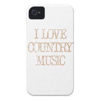 I Love Country Music iPhone 4 Cases