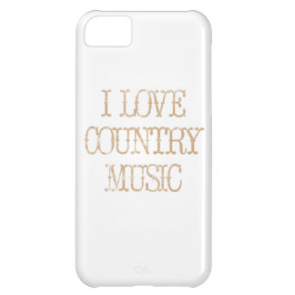I Love Country Music iPhone 5C Case