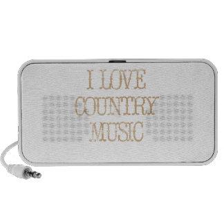 I Love Country Music Travel Speaker