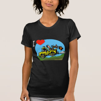 I Love _ _ _ _ Country Taxi Shirts