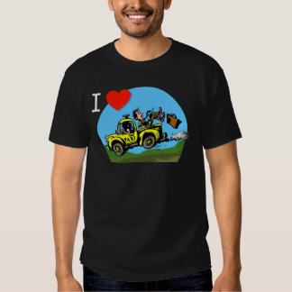 I Love _ _ _ _ Country Taxi Tee Shirt