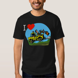 I Love _ _ _ _ Country Taxi Tshirt