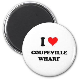I Love Coupeville Wharf Fridge Magnets