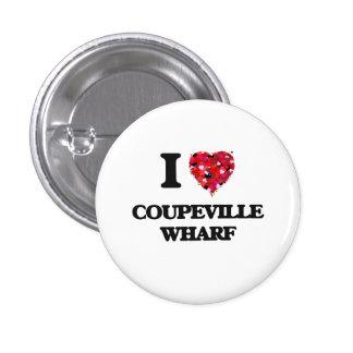 I love Coupeville Wharf Washington 3 Cm Round Badge
