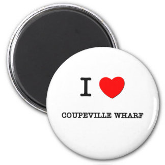 I Love Coupeville Wharf Washington Fridge Magnet