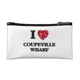 I love Coupeville Wharf Washington Makeup Bag