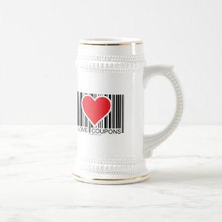 I Love Coupons Mugs