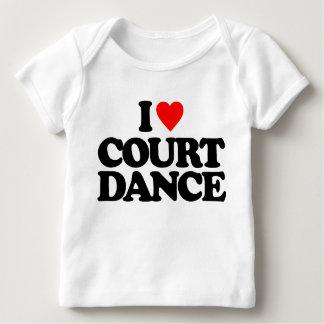 I LOVE COURT DANCE T-SHIRT