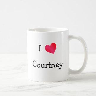 I Love Courtney Coffee Mug