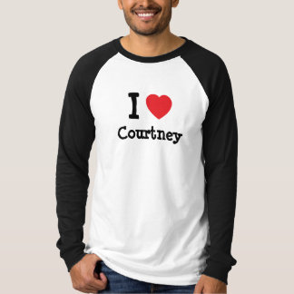 I love Courtney heart T-Shirt