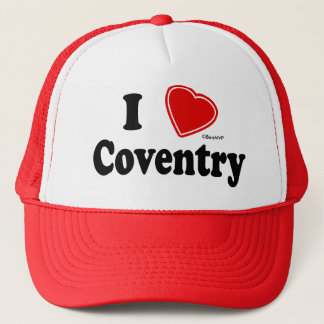 I Love Coventry Trucker Hat