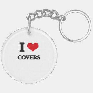 I love Covers Acrylic Keychains