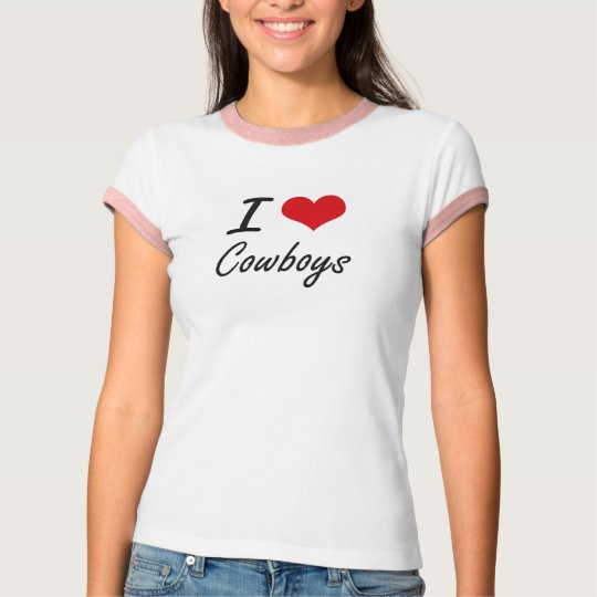 I love Cowboys T-Shirt