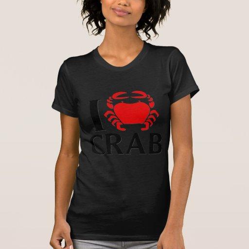 I Love Crab Tshirt