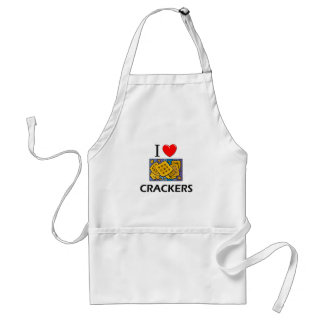 I Love Crackers Aprons