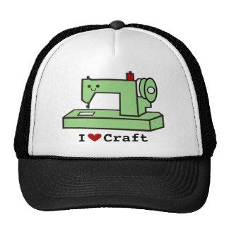 I Love Craft- Kawaii Sewing Machine Cap