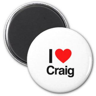 i love craig refrigerator magnet
