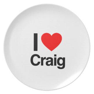 i love craig plates