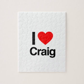 i love craig puzzle