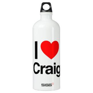 i love craig SIGG traveler 1.0L water bottle