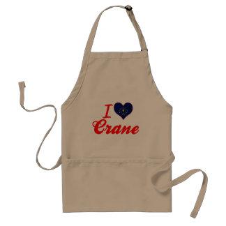 I Love Crane, Indiana Apron
