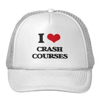 I love Crash Courses Trucker Hats
