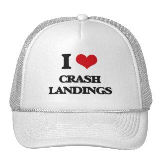 I love Crash Landings Mesh Hat