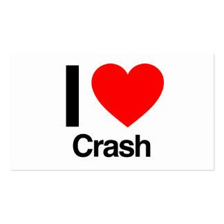 i love crash pack of standard business cards